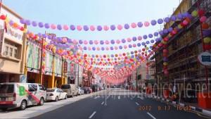 お祭り状態のチャイナタウン