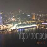 [シンガポール探訪記] Day1-11 マリーナベイサンズ Sky on 57