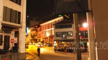 夜のクラブストリート1