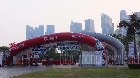 [シンガポール探訪記] Day4-6 F1 シンガポールGP 準備