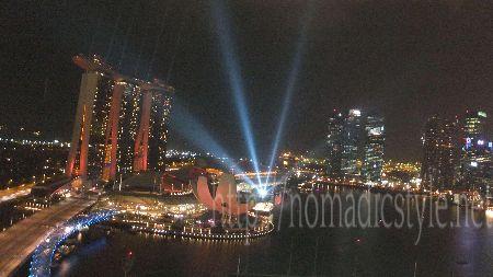 [シンガポール探訪記] Day4-7 リッツカールトン ミレニア シンガポール 夜景