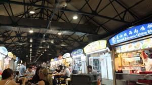 シンガポール マックスウェル フードセンター