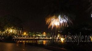 シンガポール ハーバーフロント 夜景