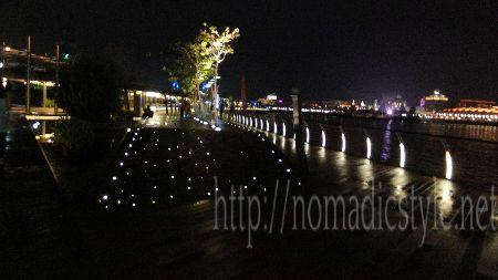 [シンガポール探訪記] Day5-8 セントーサ・ボードウォーク 夜景