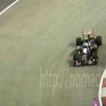 [シンガポール探訪記] Day7-3 F1 シンガポールGP 2012 予選(マリーナベイサンズ KUDETA)