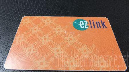 シンガポール ezLinkカード
