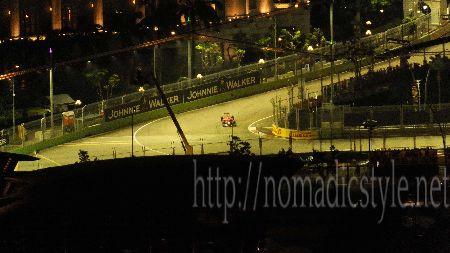 F1 シンガポールGP 予選 7