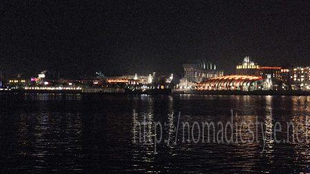 シンガポール ハーバーフロント 夜景 2