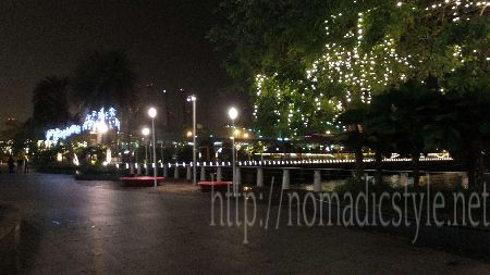 シンガポール ハーバーフロント 夜景 6