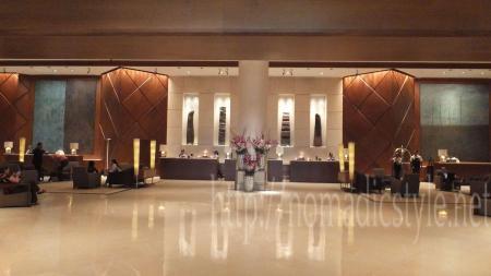 Fairmont SINGAPORE エントランスホール