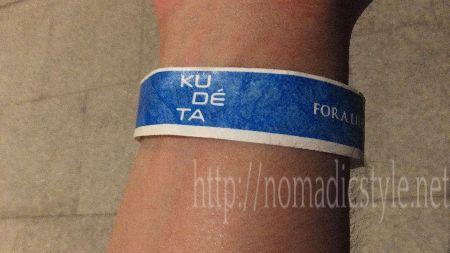 KUDETAの入場チケット