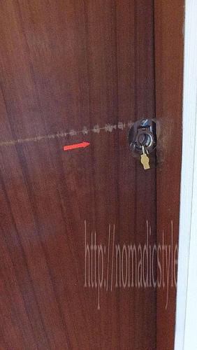 スパーブホステル 部屋の鍵