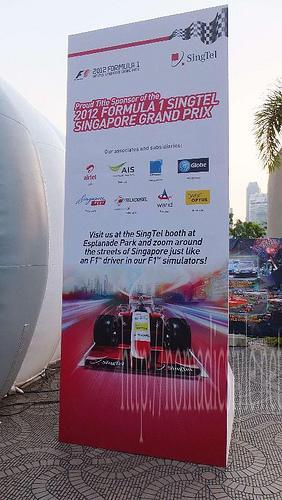 F1 シンガポールGP スタンドPOP