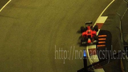 F1 シンガポールGP 予選 10