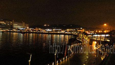 シンガポール boardwalk 夜景 7