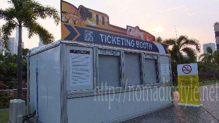 F1 シンガポールGP チケット売り場