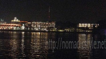 シンガポール ハーバーフロント 夜景 1