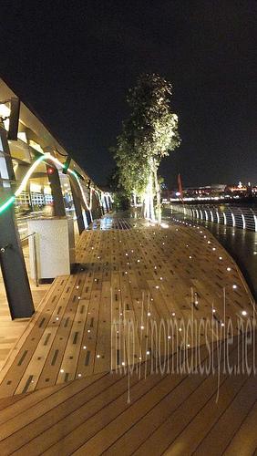 シンガポール boardwalk 夜景 3