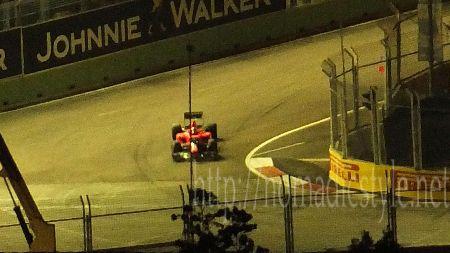 F1 シンガポールGP 予選 8