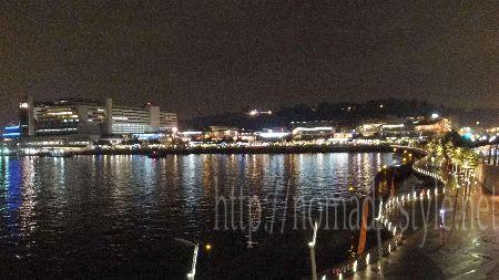 シンガポール boardwalk 夜景 6