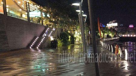 シンガポール boardwalk 夜景 13