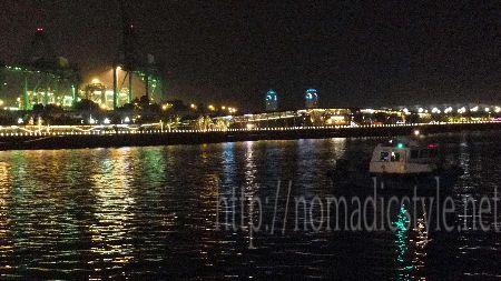 シンガポール ハーバーフロント 夜景 3