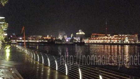 シンガポール boardwalk 夜景 4