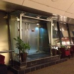 Ambassador Transit Lounge (T2)の喫煙スペースへの入口