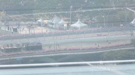 シンガポールのF1のテスト走行の模様2
