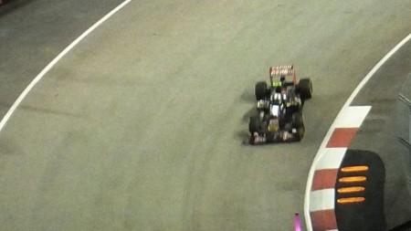 シンガポールのF1予選の模様2