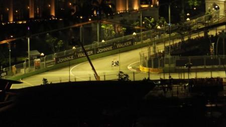 シンガポールのF1予選の模様3