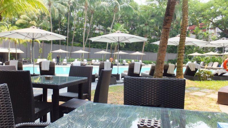 【カフェ】 リッツカールトン シンガポール