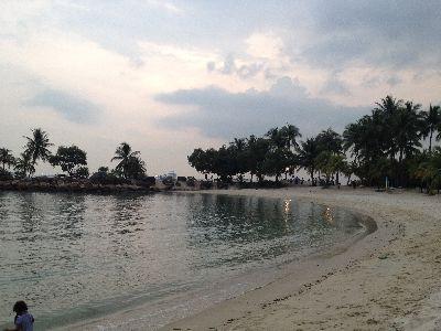 シャングリラのプライベートビーチ1