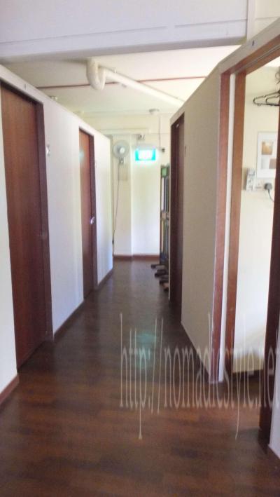 Superb Hostel の廊下