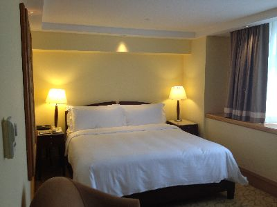 Fullerton Hotelの部屋