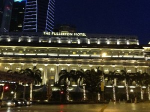 Fullerton Hotelの外観