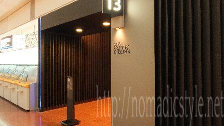 羽田空港 ANA プレミアムチェックインカウンター